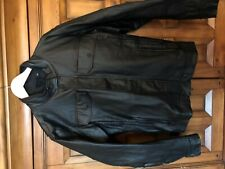 harley davidson waxed denim riding jacket xl slim fit nwt black