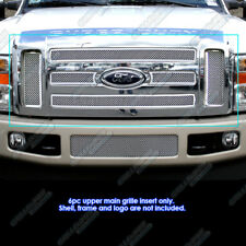 Fits 08-10 Ford F-250/F-350 Super Duty Stainless Mesh Grille