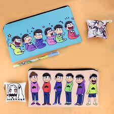 SIX SAME FACES Mr.Osomatsu San Anime Phone Bag Pencil Case Cosmetic Gift