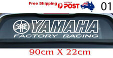 Yamaha Factory Racing sticker vinyl decal 90CMx22CM White car ute sticker Large