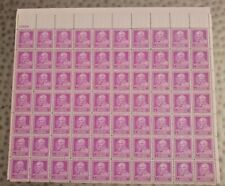 U.S. MINT STAMP SHEET #953, GEORGE WASHINGTON CARVER, 3 CENTS, 1948 MNH, OG