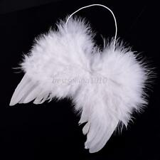 Angel Feather Wings Newborn Baby Kids Photo Props Party Halloween Costume Dress