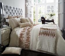 Alina Luxury Duvet Cover Set+ Pillow Cases,Bed Linen Single,Double,King,Super k