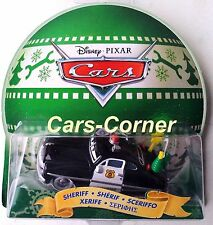 Disney Pixar Cars sheriff con adornos-Holiday Spirit 2013-nuevo & OVP