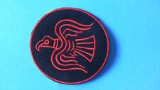 Odin Raven Iron On Patch! New Thor Viking Norse Nordic Norwegian Swedish Danish