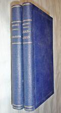 DOS LIBROS BALZAC DE 1.876 - Jean-Louis y L´Israélite