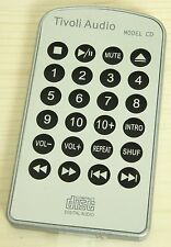 (nuevo) original Tivoli Audio control remoto para Model CD, Remote Control, Silver