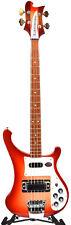 Rickenbacker 4003S Bass Guitar w/ Hard Shell Case FireGlo 4003SFG FREE RIC BOOK