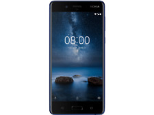 Nokia 8 64GB Snapdragon 835 LTE Android Smartphone NEU - Tempered Blue/ Blau