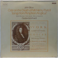 GUSTAV LEONHARDT John Blow - Ode to the Death of Mr. Henry Purcell RCA RL 30767