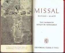 Missal, català-llatí