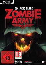 Sniper Elite: Zombie Army (PC, 2013, DVD-Box)