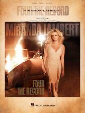 Miranda Lambert Four the Record Sheet Music Piano Vocal Guitar SongBoo 000307389