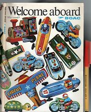 1970 BOAC British Airlines 104pg WELCOME ABOARD inc 27pg MAPS Much MORE VGC RARE