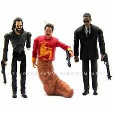 LOT 3 PCS MIB Men In Black 3 Agent J Boris & Chinese  MR. WU  3.75'' Figure N263