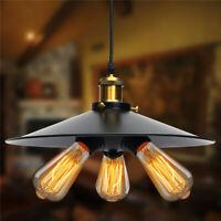 3 Head Vintage Industrial Hanging Ceiling Lamp Pendant Light Holder