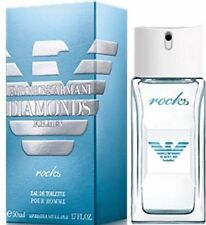 Emporio Armani Diamonds ROCKS Eau de Toilette Men 1.7 oz