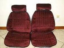 1985 - 88 Monte Carlo Front Bucket Seat Upholstery Claret