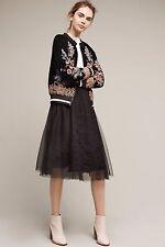NWT Anthropologie Fleurs Du Nuit Skirt by Maeve  Size M