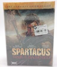 Spartacus: War of the Damned: Season 3 (DVD) New w/ Shelf Wear to Packaging