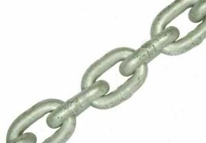 6 mm x 19mm Short Link Galvanised Anchor Mooring Chain Lifting Boat Yacht