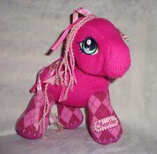 "My Little Pony Cheerilee Pink Pony Ribbon 10"" Knit Plush Soft Toy Stuffed Animal"