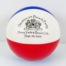 Disney Yacht & Beach Club Stress Ball Section 24 Beach Party Squeeze RARE 2005