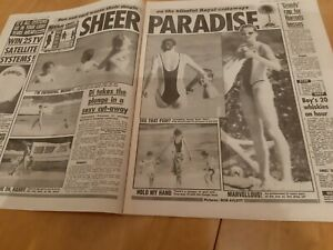 Princess Diana Newspaper Clippings