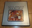 Disque - Vinyl 33T Coffret LES CLASSIQUES INOUBLIABLES (5 Disques)