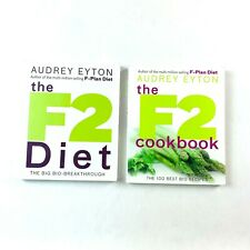 The F2 Diet and The F2 Diet Cookbook by Audrey Eyton - 2x Book Pack