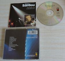 CD ALBUM OLYMPIA 76 ENREGISTREMENT PUBLIC MICHEL SARDOU 13 TITRES 1993