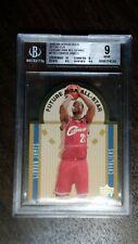 2003-04 Upper Deck SE Die Cut Future NBA All Stars LeBron James Graded BGS 9 WOW