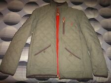 Joules Quilted Bomber Jacket Size M