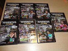 OPERA COMPLETA 7 DVD FC JUVENTUS 115 ANNI LE GRANDI VITTORIE VS MILAN ROMA LAZIO