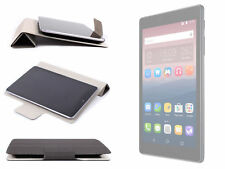 """Deluxe Grey Smart Case / Cover with Flip Stand for Alcatel PIXI 4 (7"""") 3G Tablet"""