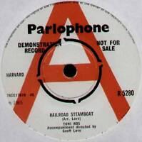 "TONI ROS ~ RAILROAD STEAMBOAT / IF YOU BELIEVE ~ 1965 UK ""DEMO"" 7"" SINGLE"
