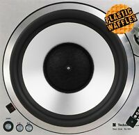 "Woofer Speaker #1 Slipmat Turntable 12"" LP Record Player, DJ Audiophile"
