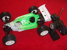 GS Racing 1/10 Shadow SB1 Nitro Super Buggy 4WD RTR w/FM Radio Set, Green <New>