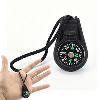 Mini Portable Compass Brunton Camping Hiking Hunting Outdoor Sport Keych Bw