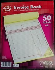 Pukka Pad DU8142 Duplicate Invoice Book 214x273mm - 50 sets