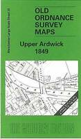 OLD ORDNANCE SURVEY MAP Upper Ardwick 1849: Manchester Sheet 35