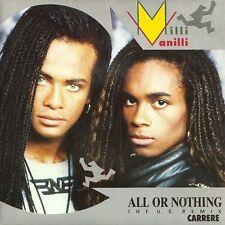 "Milli Vanilli 7"" All Or Nothing (The U.S. Mega Mix) - France"