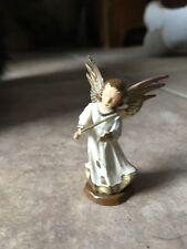 Vibtage Angel Plastic Christmas Decoration Playing Violin Missing Violin