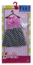 Barbie Fashions Pink & White Polka Dot Dress with Accessories New