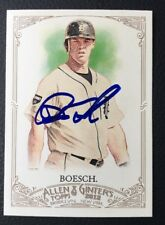 BRENNAN BOESCH 2012 ALLEN GINTERS TOPPS AUTOGRAPHED SIGNED AUTO CARD 250