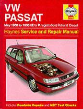 VW Passat Haynes Workshop Manual 1988-1996 Volkswagen Saloon Estate 1.8 2.0 TDI