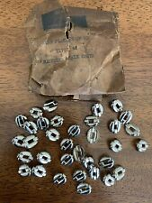 Harley Knucklehead WL Panhead NOS Nickeled Chain Spots Seat SaddleBags 11757-40