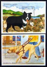 TURKS & CAICOS ISLANDS 1996 Dogs M/Sheets (2) U/M NM466
