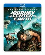 JOURNEY TO THE CENTRE OF THE EARTH 2D 3D BLU RAY FILM RB (INCLUDES 2 GLASSES)