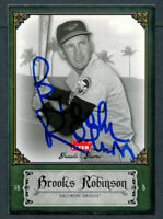 Brooks Robinson #16 signed autograph auto 2006 Fleer Greats of the Game Card